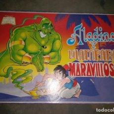 Juegos antiguos: JUEGO DE MESA ALADINO Y LA LAMPARA MARAVILLOSA . Lote 95502307