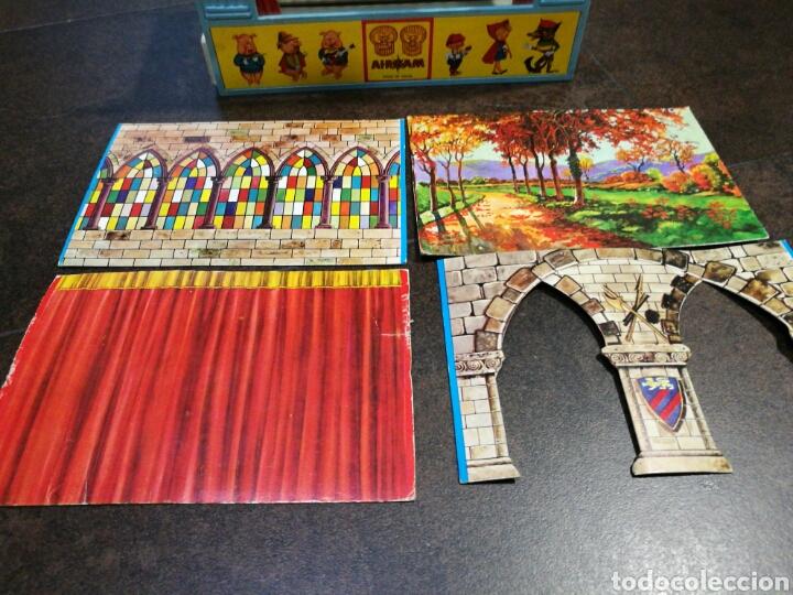 Juegos antiguos: Mini teatro Airgam - Foto 3 - 96320840