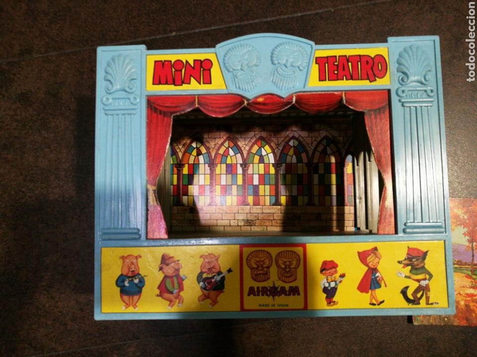 Juegos antiguos: Mini teatro Airgam - Foto 5 - 96320840