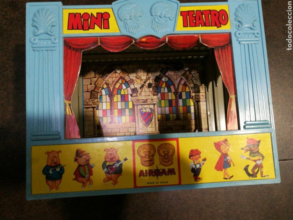 Juegos antiguos: Mini teatro Airgam - Foto 6 - 96320840