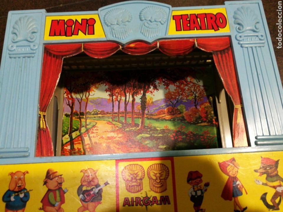 Juegos antiguos: Mini teatro Airgam - Foto 7 - 96320840