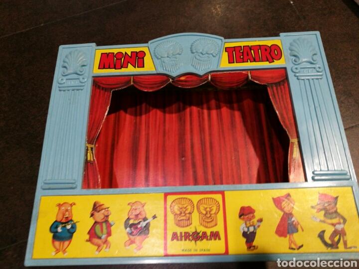 Juegos antiguos: Mini teatro Airgam - Foto 8 - 96320840