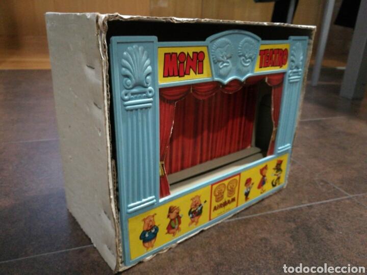 Juegos antiguos: Mini teatro Airgam - Foto 9 - 96320840