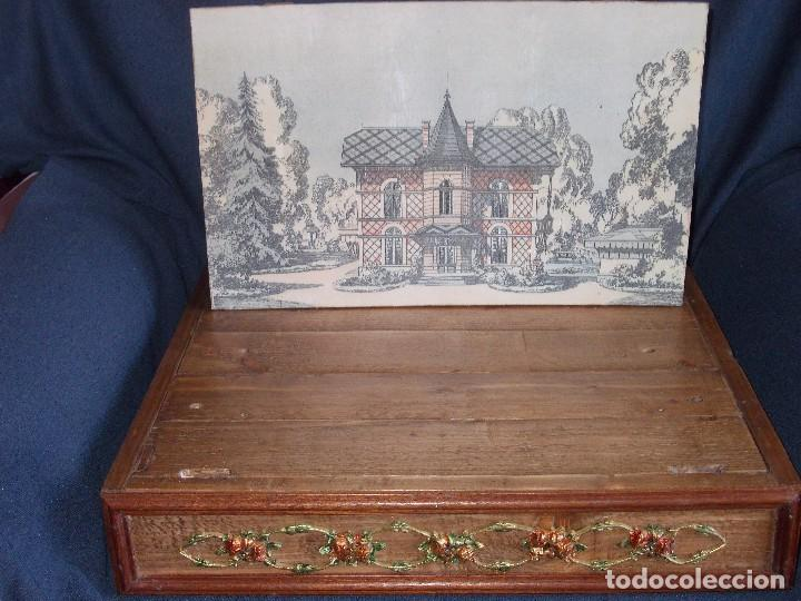 Juegos antiguos: TEATRO DE JUGUETE, PAPIERTHEATER, DUKKETHEATER, TOY THEATRE PELLERIN FRANCIA - Foto 3 - 96504747