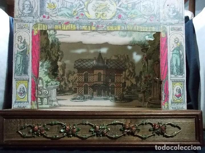 Juegos antiguos: TEATRO DE JUGUETE, PAPIERTHEATER, DUKKETHEATER, TOY THEATRE PELLERIN FRANCIA - Foto 8 - 96504747