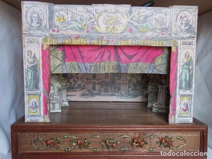 Juegos antiguos: TEATRO DE JUGUETE, PAPIERTHEATER, DUKKETHEATER, TOY THEATRE PELLERIN FRANCIA - Foto 10 - 96504747