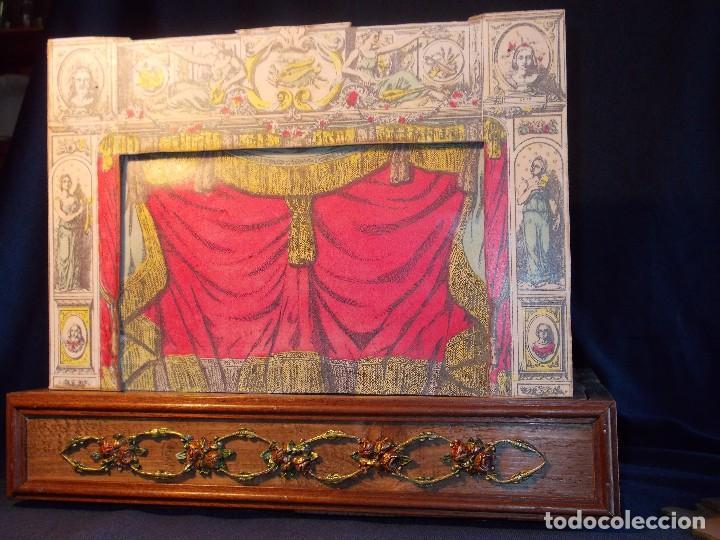 Juegos antiguos: TEATRO DE JUGUETE, PAPIERTHEATER, DUKKETHEATER, TOY THEATRE PELLERIN FRANCIA - Foto 11 - 96504747