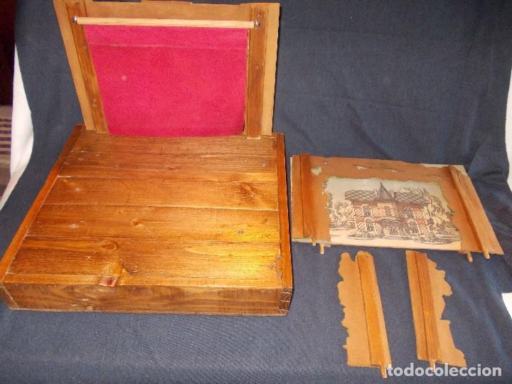 Juegos antiguos: TEATRO DE JUGUETE, PAPIERTHEATER, DUKKETHEATER, TOY THEATRE PELLERIN FRANCIA - Foto 14 - 96504747