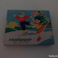 Juegos antiguos: FRIENDSHIP WAX CRAYONS VER FOTOS. Lote 96615383