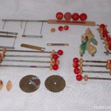 Juegos antiguos: LOTE JUEGO PIRUETAS DE BORRAS. Lote 96684399