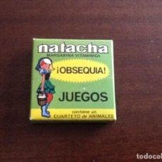 Juegos antiguos: NATACHA JUEGOS CUARTETO DE ANIMALES. Lote 96821743