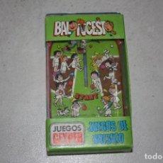 Juegos antiguos: ANTIGUO JUEGO DE BOLSILLO DE BALONCESTO DE GEYPER.. Lote 96939427