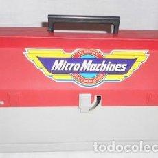 Juegos antiguos: MALETÍN TALLER MECÁNICO DE MICRO MACHINES, SIN COCHES. Lote 96962403