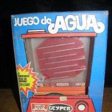 Juegos antiguos: JUEGO DE AGUA GEYPER (EL SORPRENDENTE JUEGO SIN GRAVEDAD). Lote 97140399