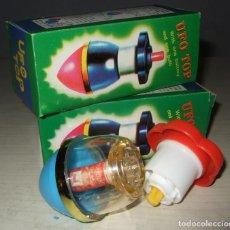 Juegos antiguos: ANTIGUA PEONZA TROMPO DE UFO TOP . Lote 97305795