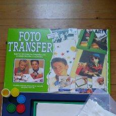 Juegos antiguos: FOTO TRANSFER MANUALIDADES PINTAR CAMISETAS.DISET 1993.NUEVO EN CAJA.. Lote 98503526