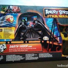 Juegos antiguos: DARTH VADER GAME ANGRY BIRDS JENGA HASBRO. Lote 98648131