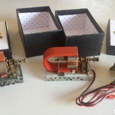 Juegos antiguos: LOTE DE MOTORES ELECTRICOS COMPATIBLES MECCANO. Lote 98917455