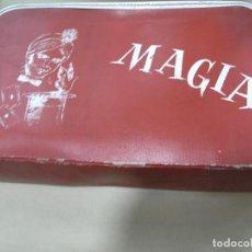 Juegos antiguos: MALETA ANTIGUO MALETÍN MAGIA BORRAS VER FOTOS. Lote 99064275