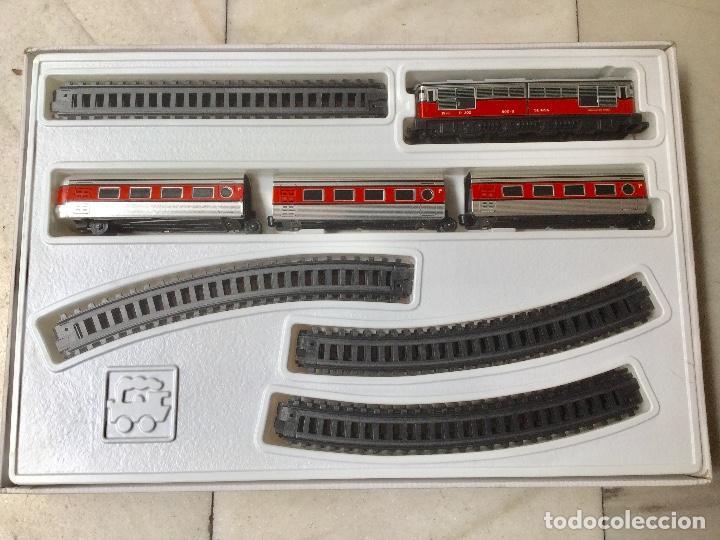 Juegos antiguos: Tren eléctrico con luz. - Foto 2 - 100081695