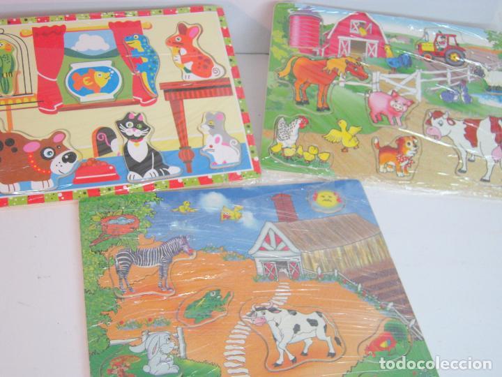 Lote 7 Juegos En Madera Troquelado Infantil R Comprar Juegos