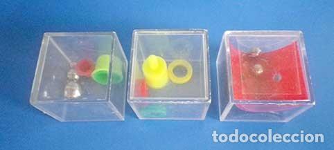 Juegos antiguos: Lote 3 cubos juegos habilidad cubijuegos aros años 80-90 - Foto 2 - 100381843