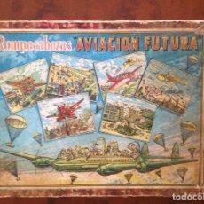 Juegos antiguos: ROMPECABEZAS AVIACIÓN FUTURA-AÑOS 50-BORRAS?-. Lote 100510251