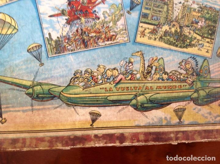 Juegos antiguos: Rompecabezas Aviación Futura-Años 50-Borras?- - Foto 3 - 100510251