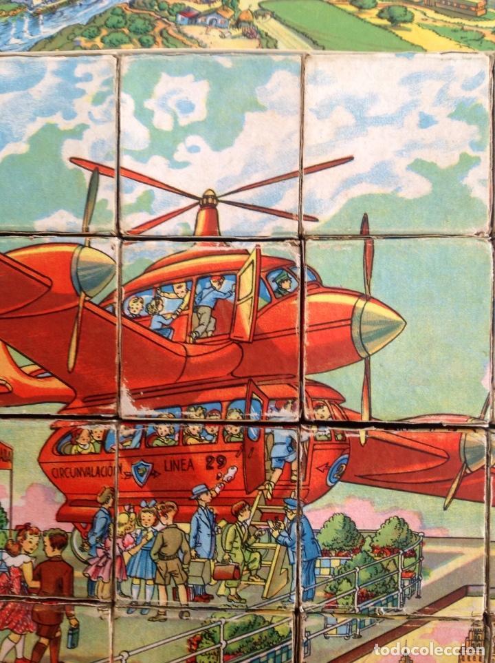 Juegos antiguos: Rompecabezas Aviación Futura-Años 50-Borras?- - Foto 5 - 100510251