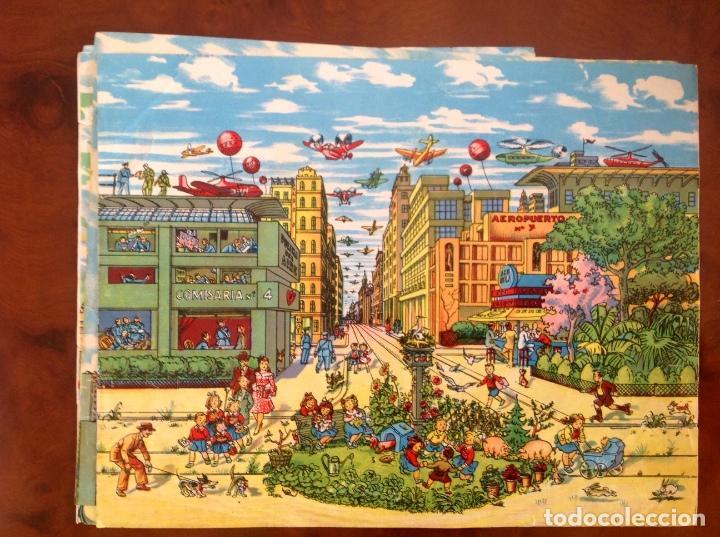 Juegos antiguos: Rompecabezas Aviación Futura-Años 50-Borras?- - Foto 6 - 100510251
