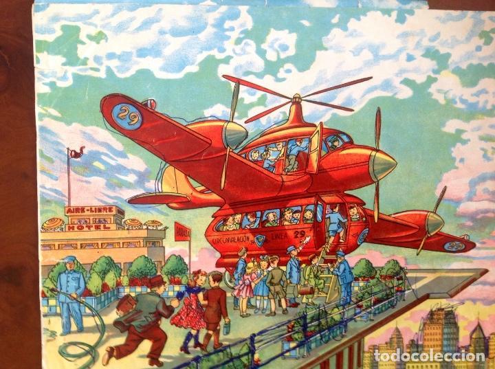 Juegos antiguos: Rompecabezas Aviación Futura-Años 50-Borras?- - Foto 8 - 100510251