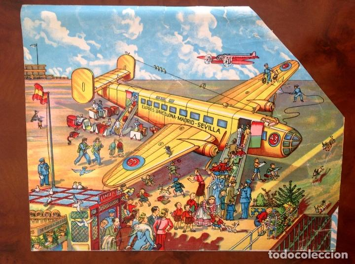 Juegos antiguos: Rompecabezas Aviación Futura-Años 50-Borras?- - Foto 9 - 100510251