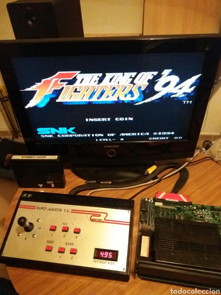 The King Of Ficheros 94 Mvs Neo Geo Arcade Orig Comprar Juegos