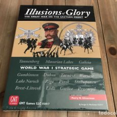 Juegos antiguos: JUEGO WARGAME - ILLUSIONS OF GLORY - THE GREAT WAR ON THE EASTERN FRONT - GMT - WWI - PRECINTADO. Lote 101566207