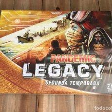 Juegos antiguos: JUEGO DE MESA - PANDEMIC LEGACY - TEMPORADA 2 - DEVIR - PRECINTADO - CAJA AMARILLA. Lote 101924467