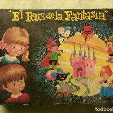 Juegos antiguos: EL PAÍS DE LA FANTASÍA - ROMPECABEZAS DE CUBOS DE CARTÓN - C. BUSQUETS - PLAVEN - AÑOS 60 - 70. Lote 102489063