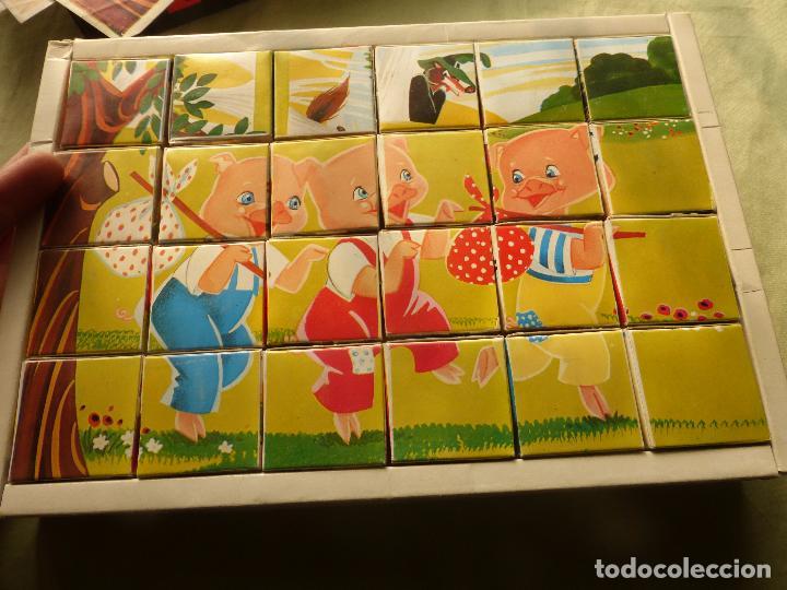 Juegos antiguos: EL PAÍS DE LA FANTASÍA - ROMPECABEZAS DE CUBOS DE CARTÓN - C. BUSQUETS - PLAVEN - AÑOS 60 - 70 - Foto 3 - 102489063