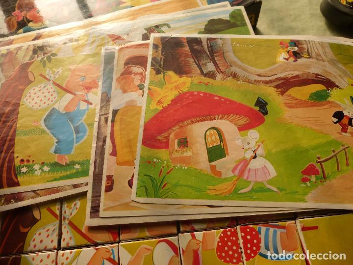 Juegos antiguos: EL PAÍS DE LA FANTASÍA - ROMPECABEZAS DE CUBOS DE CARTÓN - C. BUSQUETS - PLAVEN - AÑOS 60 - 70 - Foto 5 - 102489063