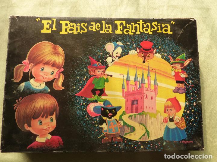 Juegos antiguos: EL PAÍS DE LA FANTASÍA - ROMPECABEZAS DE CUBOS DE CARTÓN - C. BUSQUETS - PLAVEN - AÑOS 60 - 70 - Foto 6 - 102489063