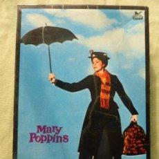 Juegos antiguos: MARY POPPINS WALT DISNEY-ROMPECABEZAS DE CUBOS DE CARTÓN-ORIGINAL 1964-EDIGRAF-ESTADO MUY ACEPTABLE. Lote 102489343