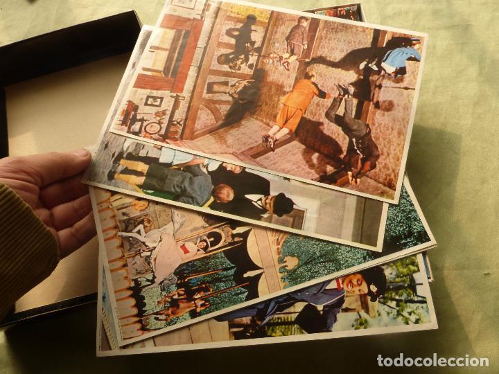 Juegos antiguos: MARY POPPINS WALT DISNEY-ROMPECABEZAS DE CUBOS DE CARTÓN-ORIGINAL 1964-EDIGRAF-ESTADO MUY ACEPTABLE - Foto 3 - 102489343