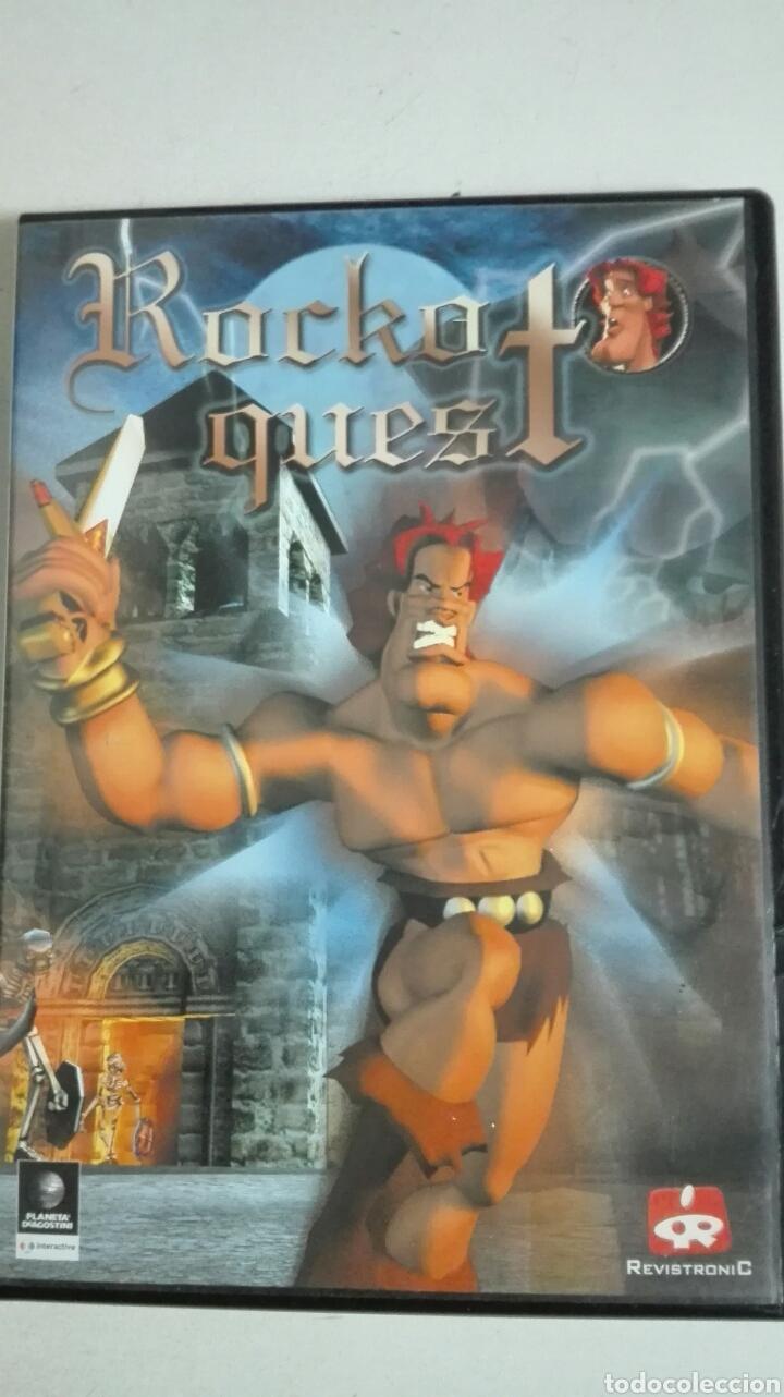 Juego De Pc Rocko Quest Comprar Juegos Antiguos Variados En