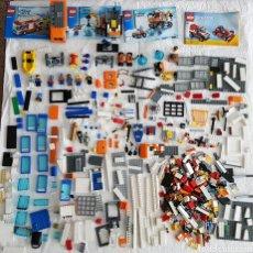 Juegos antiguos: LOTE DE LEGO CON MAS DE 500 PIEZAS 1500 GRAMOS. Lote 103943480