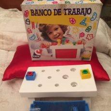 Juegos antiguos: BANCO DE TRABAJO JUGUETE CEFA SIN USAR. Lote 103998622