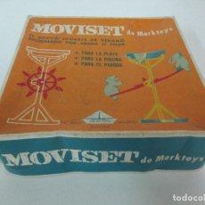 Juegos antiguos: JUGUETE DE VERANO - MOVISET DE MERKTOYS, MADRID - REF Nº 3002 - CON CAJA - NUEVO A ESTRENAR. Lote 104668395