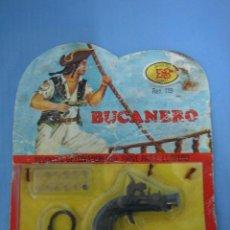 Juegos antiguos: PISTOLA DETONADORA EL BUCANERO DE JUGUETES MARTI REF-119. Lote 104988719