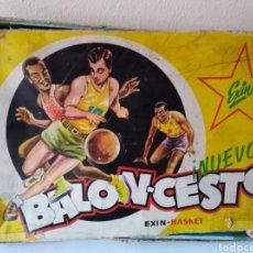 Juegos antiguos: EXIN BALONCESTO EXIN BASKET. Lote 105358826