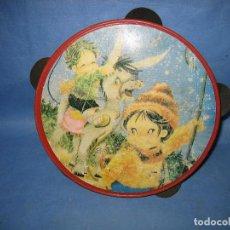 Juegos antiguos: PANDERETA INFANTIL DE JUGUETE. Lote 105577963