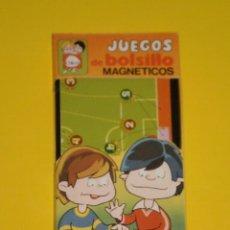 Jogos antigos: JUEGO MAGNETICO DE BOLSILLO , CHICOS ( MADE IN SPAIN ) . SIN ESTRENAR , AÑOS 70/80 . FUTBOL SALA. Lote 105716547