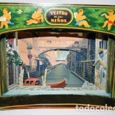 Juegos antiguos: EL TEATRO DE LOS NIÑOS. EL MERCADER DE VENECIA.. Lote 105886171